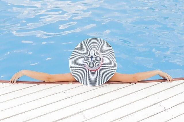 快適なプール